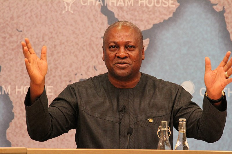 We won't allow campaign funds, logistics to be diverted – Mahama
