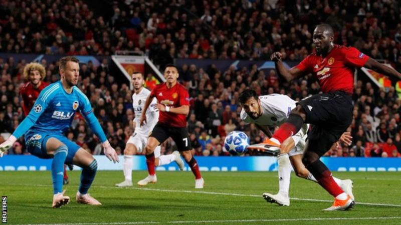 UCL: Man United booed off after draw with Valencia