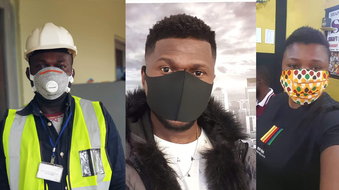 64 People Arrested in Obuasi for Not Wearing Face Mask