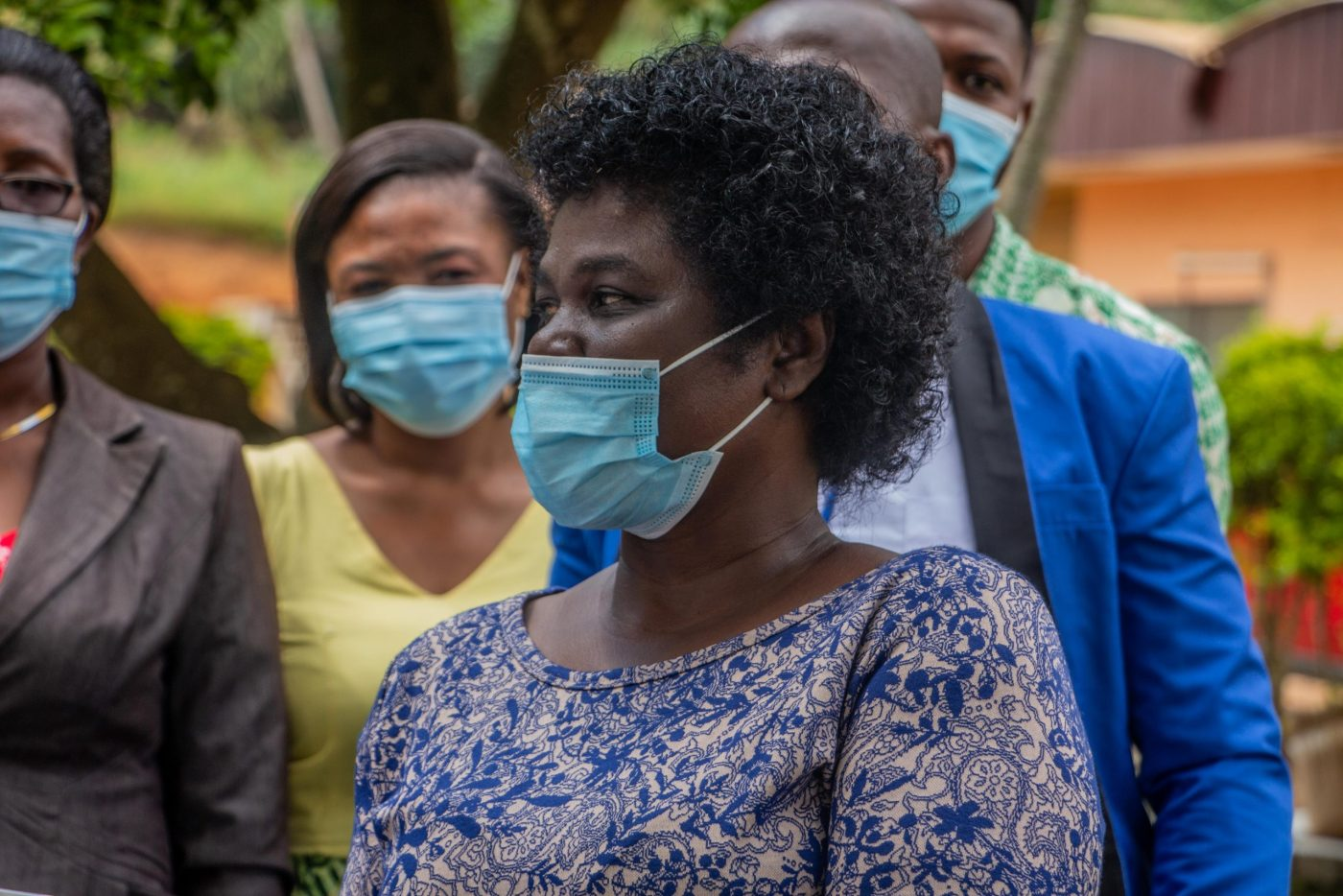 Mrs. Yaa Manu, the Acting Director of Health at the Obuasi Government Hospital