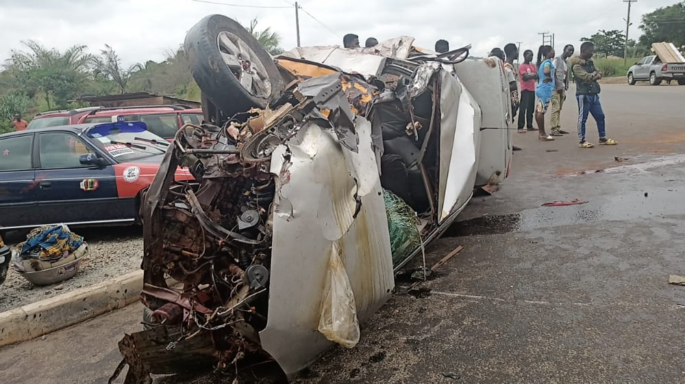 3 Killed, 10 Others Injured in Accident on Obuasi-Anwiankwanta Road