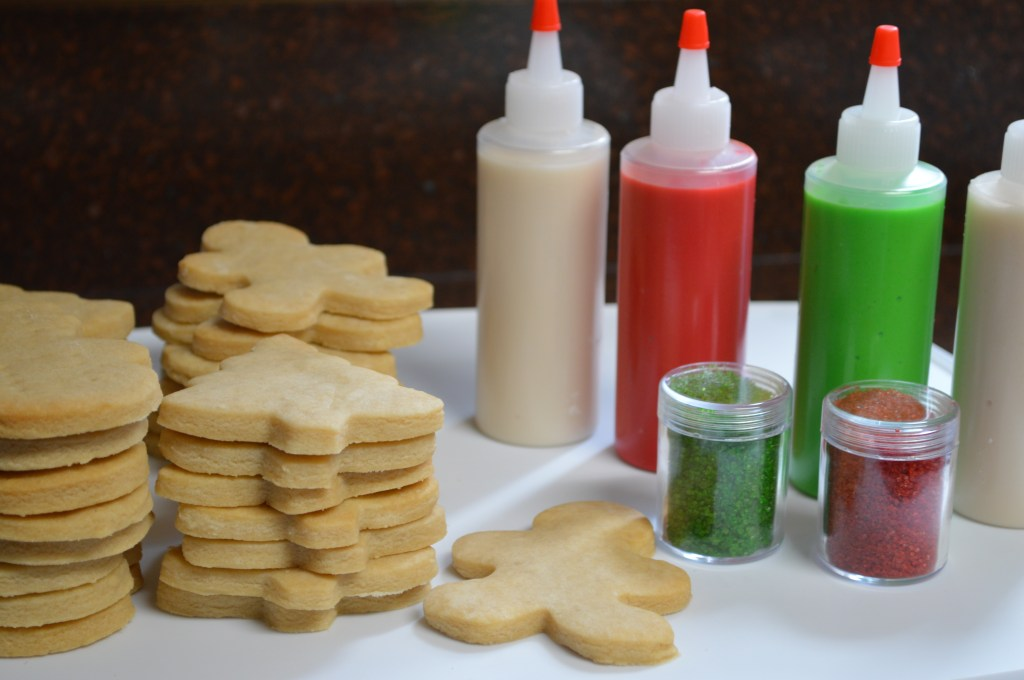 Christmas Cookie Decorating Kit.Holiday Cookie Decorating Kit Out Of The Bubble Bakery
