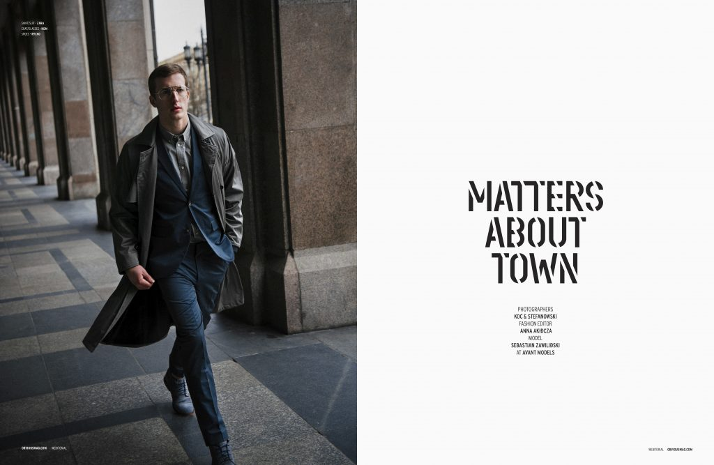 MATTERS ABOUT TOWN