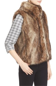 Narasha Faux Fur Vest at Nordstrom