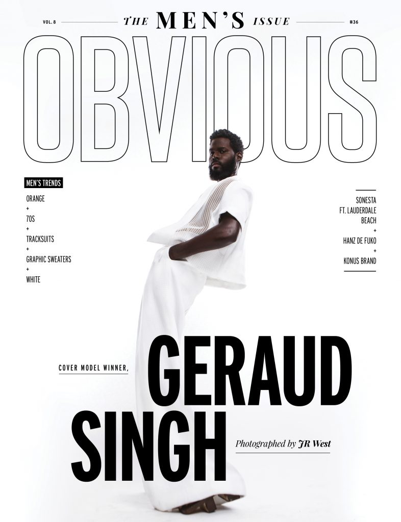 GERAUD SINGH | MEN'S ISSUE