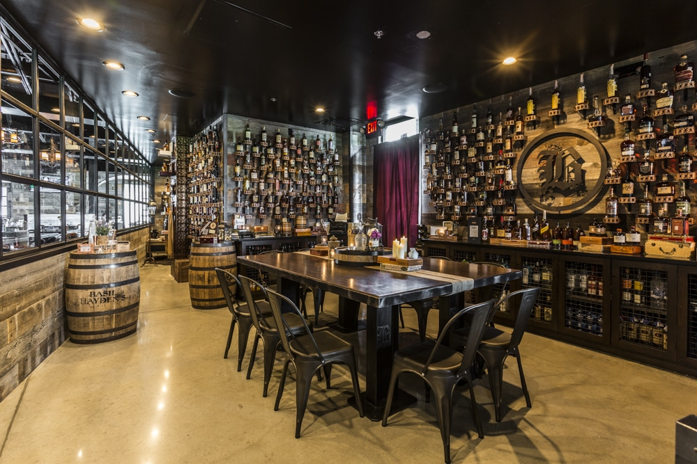 Bosscat Kitchen & Libations Houston | Whiskey Room