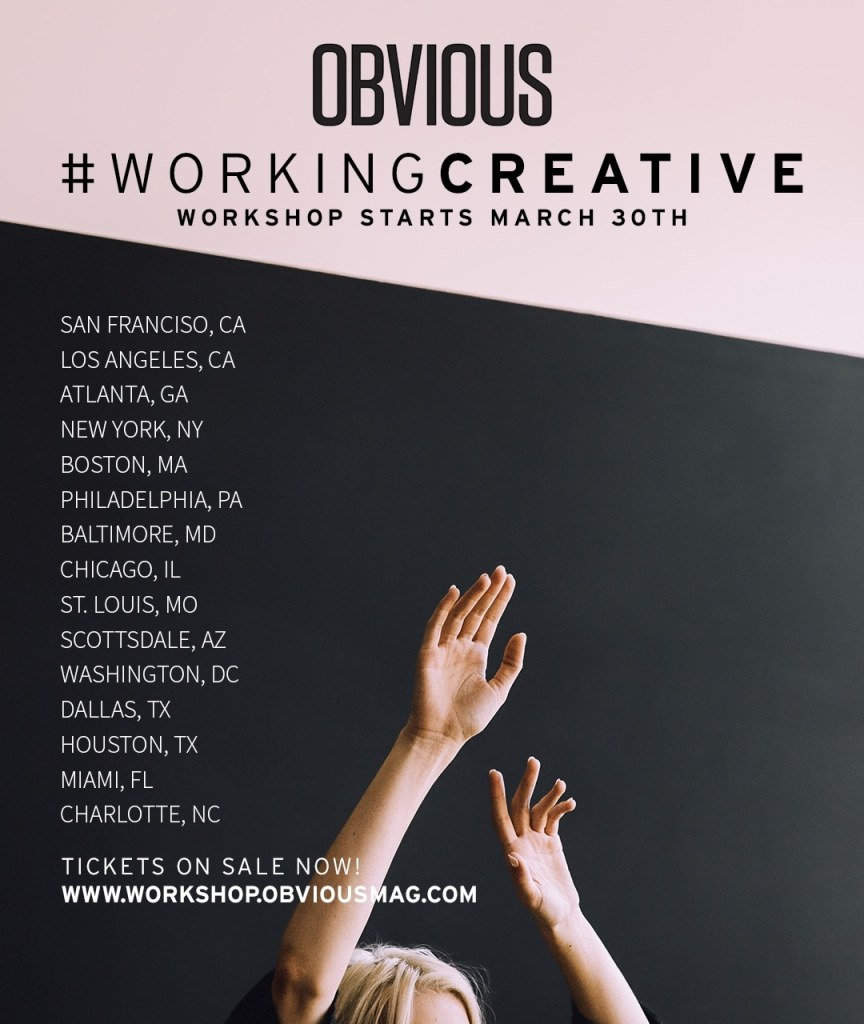#WorkingCreative Workshop