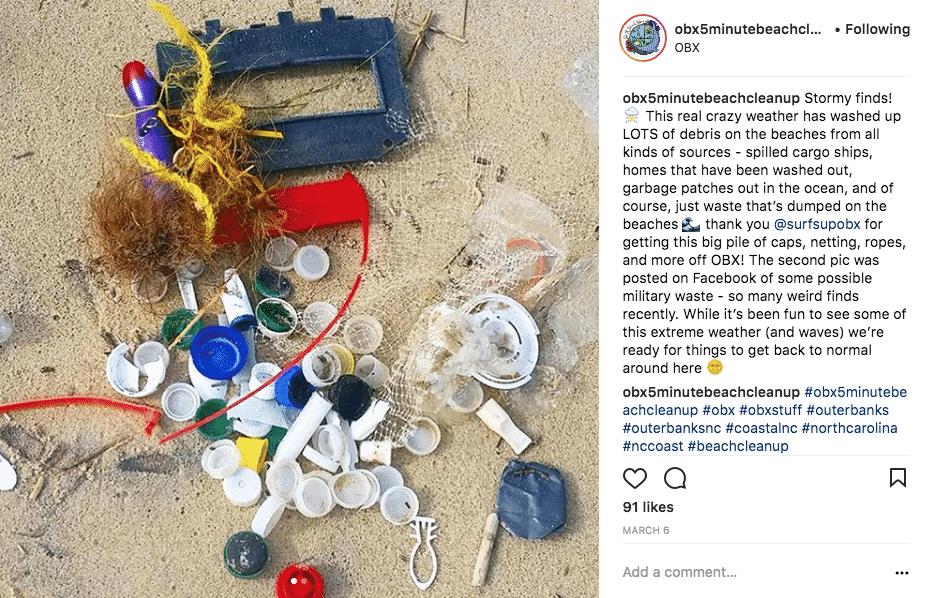 OBX 5 Minute Beach Cleanup
