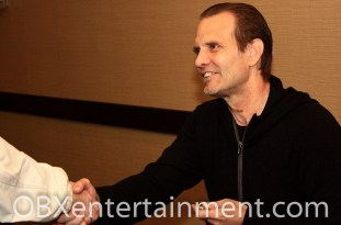 """Legendary actor Michael Biehn was all smiles meeting hundreds of fans at the first ever """"Blood at the Beach"""" Horror Convention in VA Beach in April 2012. (photo: Artz Music & Photography)"""