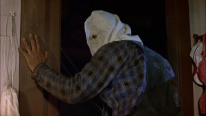 Steve Dash as Jason Voorhees in 'Friday the 13th Part 2'.