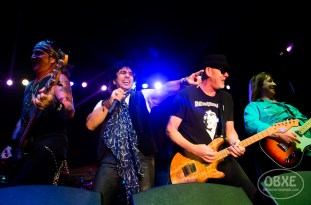 Great White at Outer Banks Bike Week Music Fest - April 28, 2017 (photo by Matt Artz / OBX Entertainment)