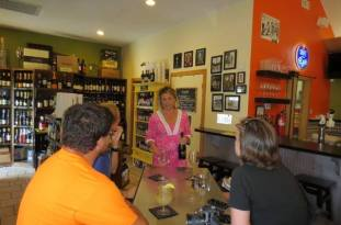 Outer Banks Restaurant Tours' Duck Walking Tour -includes a stop at Sweet T's Coffee, Beer, and Wine, owned by Stacey Walters.