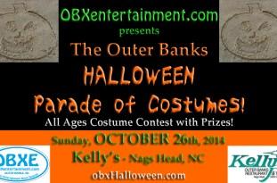 Outer Banks Halloween Parade of Costumes - October 26, 2014 at Kelly's, Nags Head, North Carolina