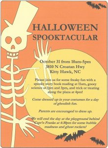 Halloween Spooktacular at Children at Play Museum - Oct. 31, 2014