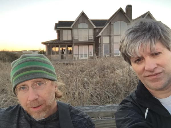 Phish's Trey Anastasio and Tom Marshall Songwriting on Outer Banks