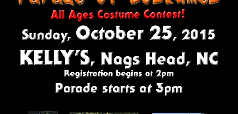 Outer Banks Halloween Parade of Costumes 2015