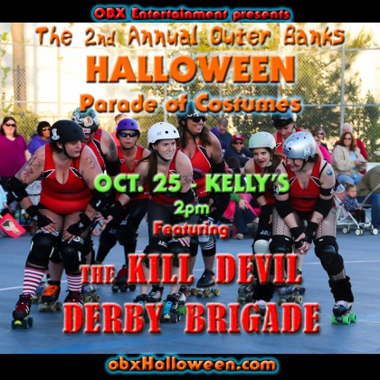 Outer Banks Halloween Parade of Costumes - Oct. 25, 2015