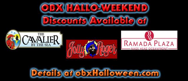 OBX Hallo-weekend banner