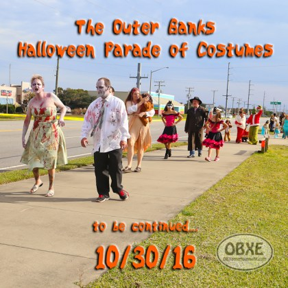 3rd Annual Outer Banks Halloween Parade of Costumes - October 30, 2016