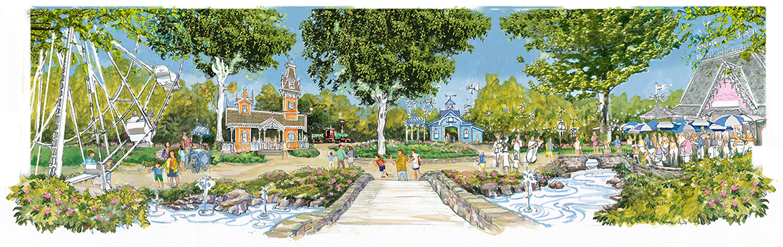 Disney Designer Bringing Whirligig Woods Theme Park To North Carolina