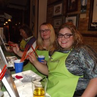 Paint Nite Brightens Outer Banks Nightlife