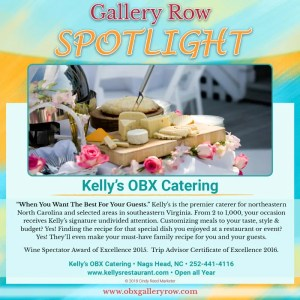 SPOTLIGHT - Kelly's Outer Banks Catering