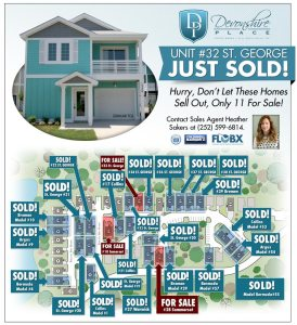 Unit #32 SOLD! Only 11 Homes Left for Sale at Devonshire Place