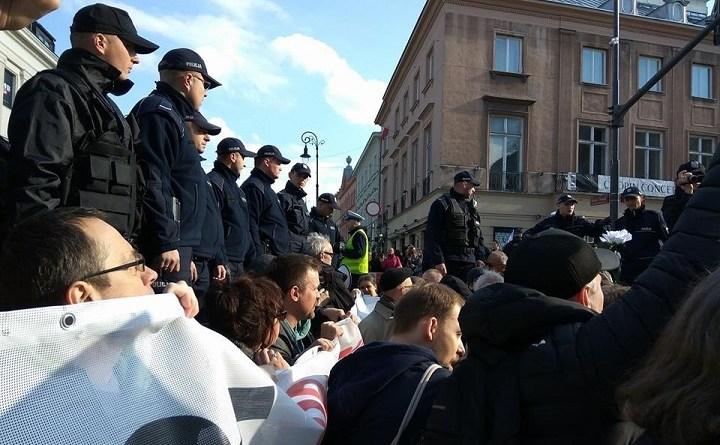 Blokada marszu ONR, 29 kwietnia 2017 r.