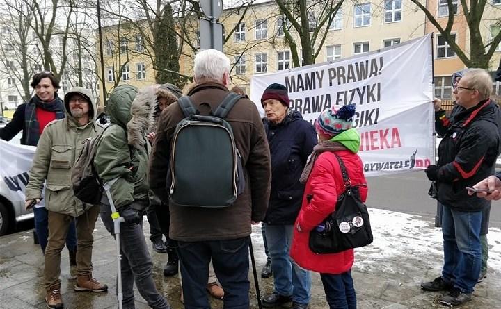 Bogusław Zalewski był przesłuchiwany na komendzie policji przy ul. Dzielnej