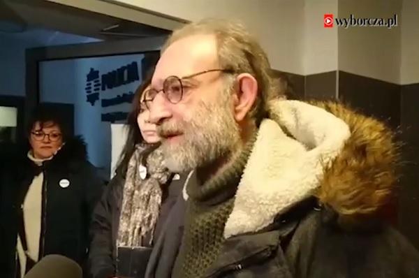 Wojciech Kinasiewicz iEwa Błaszczyk składają zawiadomienie opopełnieniu wykroczenia przezstołeczną policję