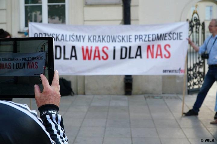Krakowskie Przedmieście, 10 maja 2018 r.