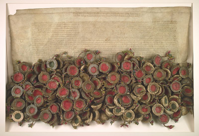 Akt Konfederacji Warszawskiej, fot.Wikipedia