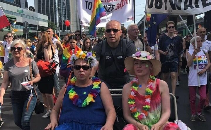 Obywatele RP na Paradzie Równości w Warszawie