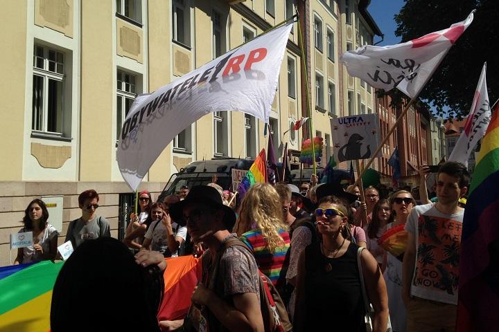 Marsz Równości wOpolu, 7.07.2018