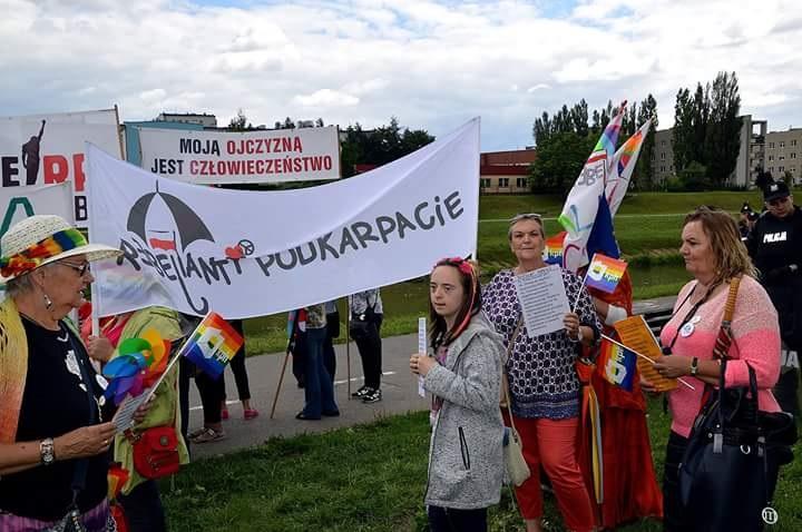 I Marsz Równości wRzeszowie, 30 czerwca 2018