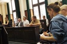Rozprawa w Sądzie Okręgowym, 23 lipca 2018