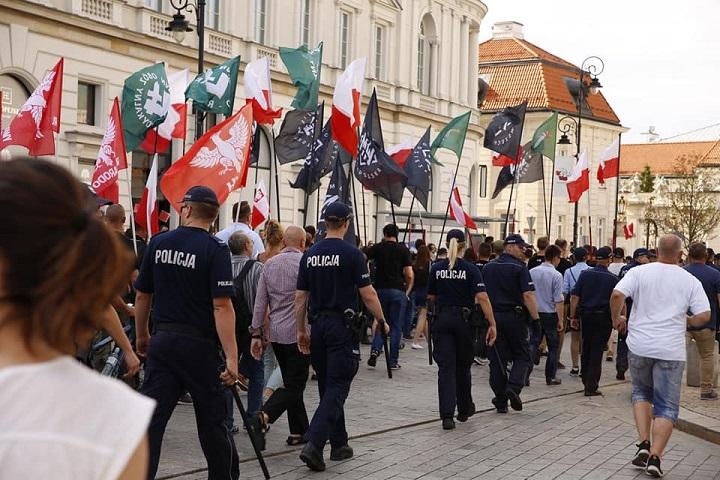 ONR wIV Marszu Zwycięstwa Rzeczypospolitej, Warszawa 15 sierpnia 2018
