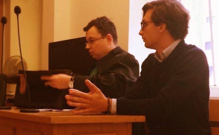 Dawid Winiarski sądzony za próbę blokady marszu skrajnej prawicy