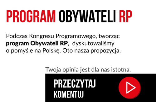 Obywatele RP - program