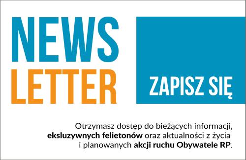 Obywatele RP - Newsletter