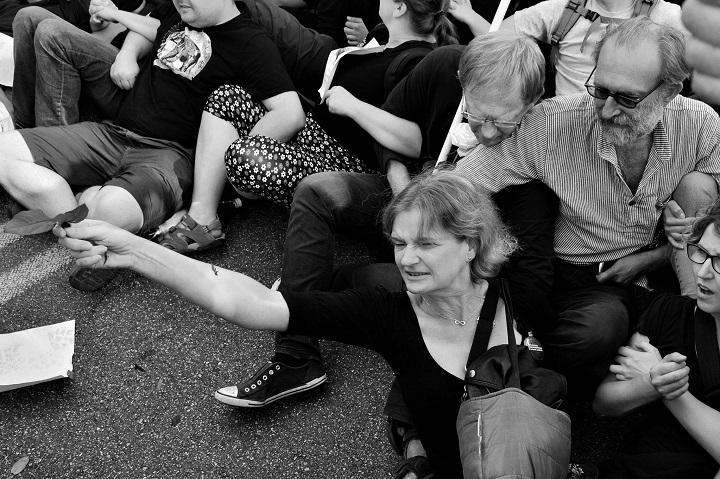 Blokada marszu ONR iMłodzieży Wszechpolskiej, 15 sierpnia 2017