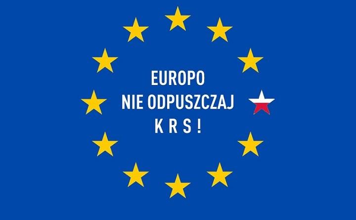 Europo nieodpuszczaj KRS. Demonstracje weWrocławiu iwŁodzi