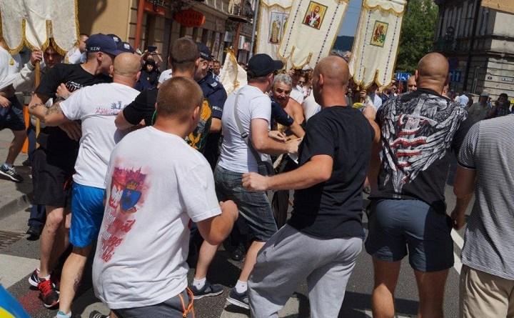 Przemyśl. Atak na ukraińską procesję w czerwcu 2016 r