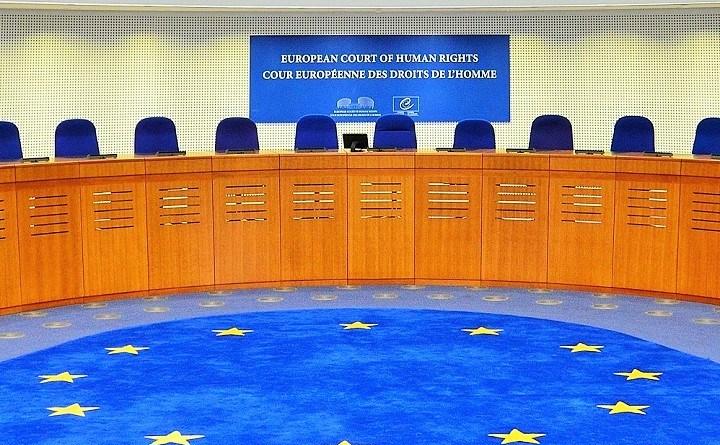 Sala rozpraw Europejskiego Trybunały Praw Człowieka w Strasburgu