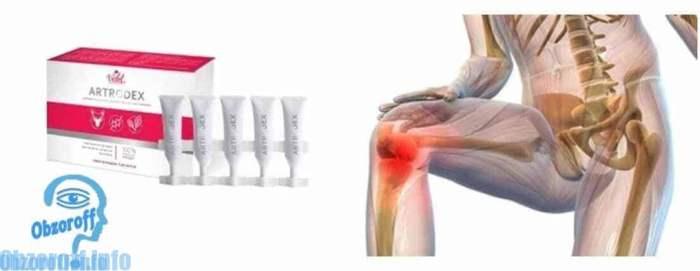 Стрип монодоза Artrodex от боли в суставах