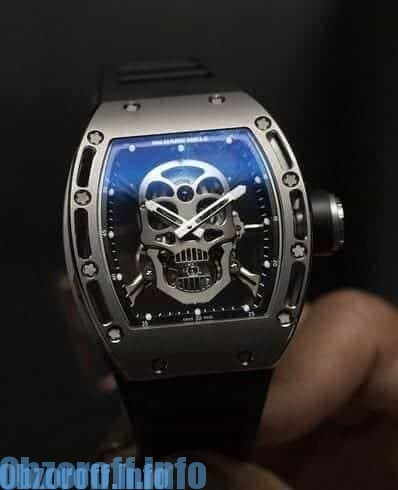Часы Richard Mille RM 052 Skull Tourbillon