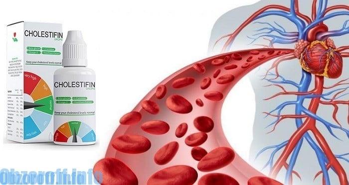 Cholestifin do obniżania poziomu cholesterolu