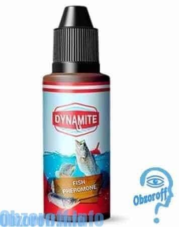 Lockstoff DYNAMITE zur Anlockung und den Fang von Fischen