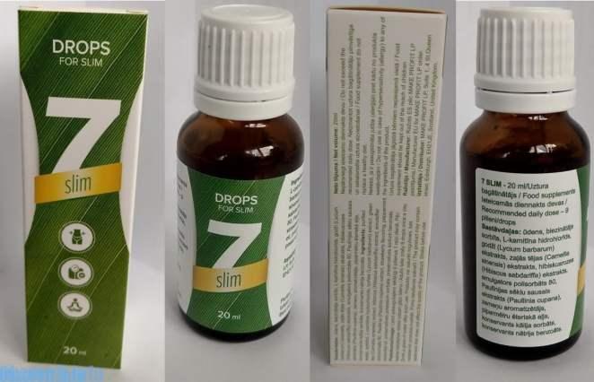 Proprietăți utile ale medicamentului 7-Slim?