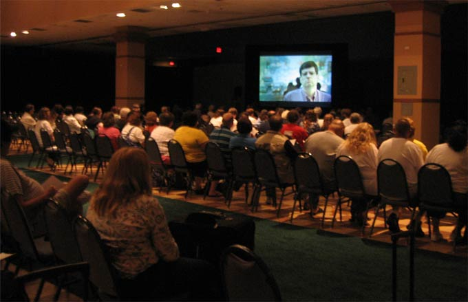 """""""OC87"""" screening at the 2010 PMHCA Conference"""
